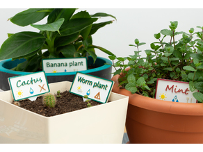 Multicolor Plant Labels