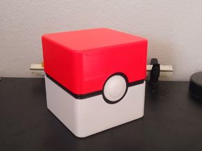 PokeBall Case for Game Boy Advance Games