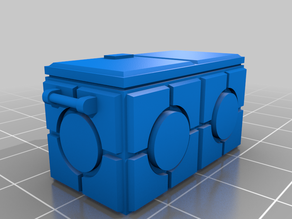 Star Wars Legion scale Imperial Arms Crate