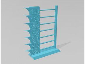 Torre de temperatura y puentes para PLA