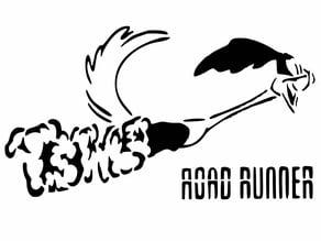 Road Runner stencil 2