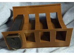 S&W M&P 9mm double stack magazine stacking rack