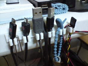 Smart Phone Cable Organizer