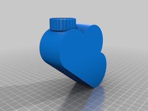 """Watering Cloud "" PET-bottle screw-on watering can"