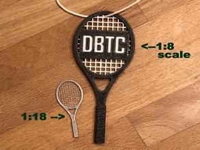 Scale Tennis Racket (Racquet)