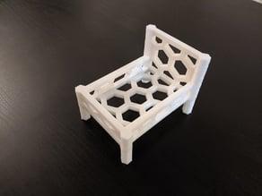 Hexagon Sponge Bed/Holder
