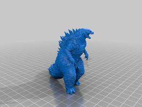 Godzilla without Pre-Made Supports
