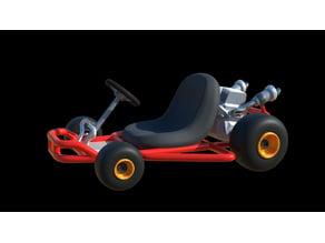 Mario Kart Pipe Kart custom