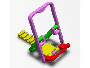 Foldable Phone Stand Model 2