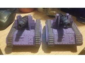 Nuramoc, Warhammer 40k Siege Tank