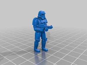 Extra Troopers Remixed Blasters