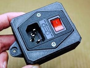 Fused C14 switch box