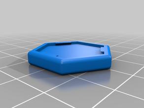 Multipurpose hexagonal square for board game