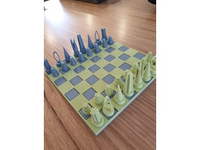 Chess board or checkers board