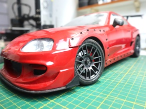 Supra MK4 1:10 scale with Complete Body kit