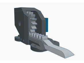 Servo Linear Actuator (9g) + adjustable backlash Version