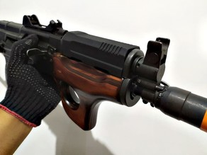 "Upper Grip (Front Guard) For GHK AK ""Style One"" AKMSU"