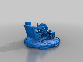 manned turret seat - bdl3 - vehicle gubbins