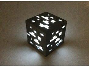 Mini Switch Lamp - Mine Craft Cube