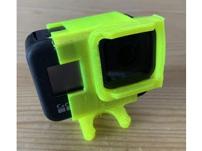 GoPro 8 + TBS ND filter for ImpulseRC Apex - Low angle
