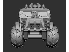 Gaslands/Apocalypse Series 3: Citroen HY Monster