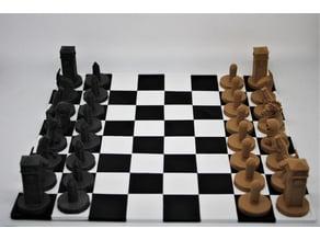 Fortnite Chess Set