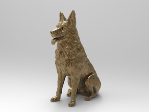 East-European (German) Shepherd dog ( remix challenge )