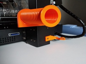 Anycubic I3 Mega Spool Holder with Filament Guide