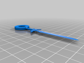Master Sword Keychain