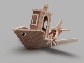 Benchplane (Benchy Plane)