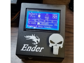 Punisher LCD Knob Cover for Creality Printers