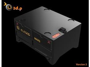Elegoo Mars -Storage Tanks, drawers and USB port extension