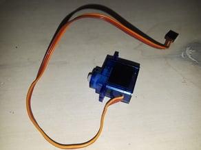 SG90 Micro servo model and servo Hack video