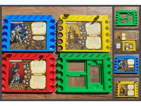 Descent Player Boards