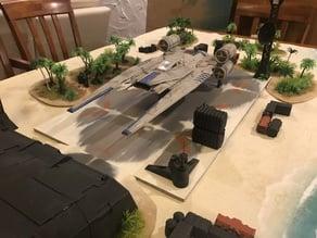 Star Wars Legion Misc Scarif Terrain