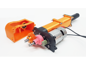 3D Printed Linear Actuator - Linear motion