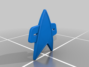 Star Trek Voyager Communicator Pin by retromatti.com