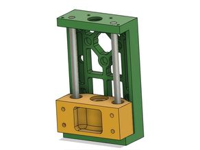 T-slot 2040 extrusion cnc gantry using 608 bearings (WIP)