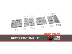 Star Wars Death Star Surface Tile F1
