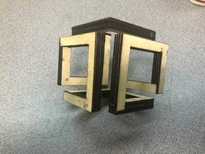 Lasercut Infinity Cube