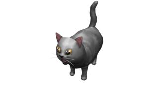 Roblox cuddly cat
