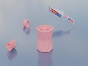 Toothpaste Refill Cap