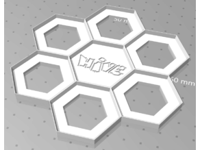 HIVE game board