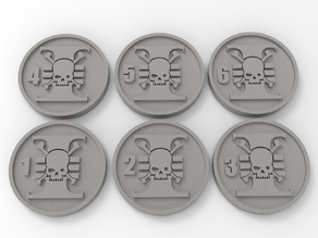 Death Watch Objective Markers