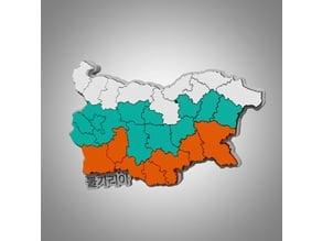 Bulgaria map puzzle