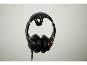 Wall Mounted Headphone Stand