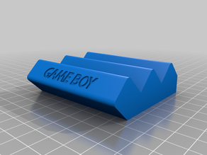 Gameboy Cartridge Display stand