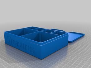 Treasure Box with Lid (customized)