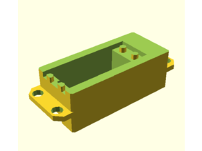 Customizable Servo Adapter / servo dummy