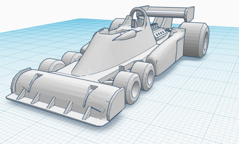 1976 Tyrell P34 - Toy Version (Stronger)